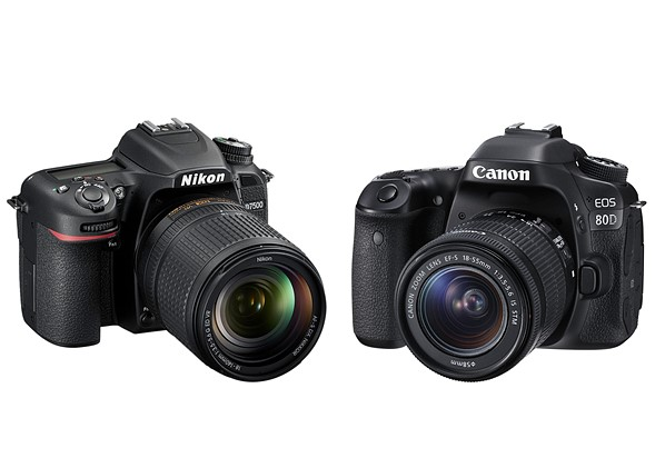 Nikon D7500 Vs  Canon 80D Vs  Canon 7D Mark II | Nikon Rumors CO