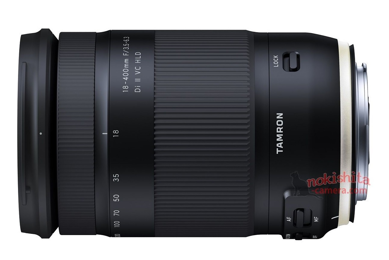 tamron to announce 18 400mm f 3 5 6 3 di ii vc hld lens. Black Bedroom Furniture Sets. Home Design Ideas