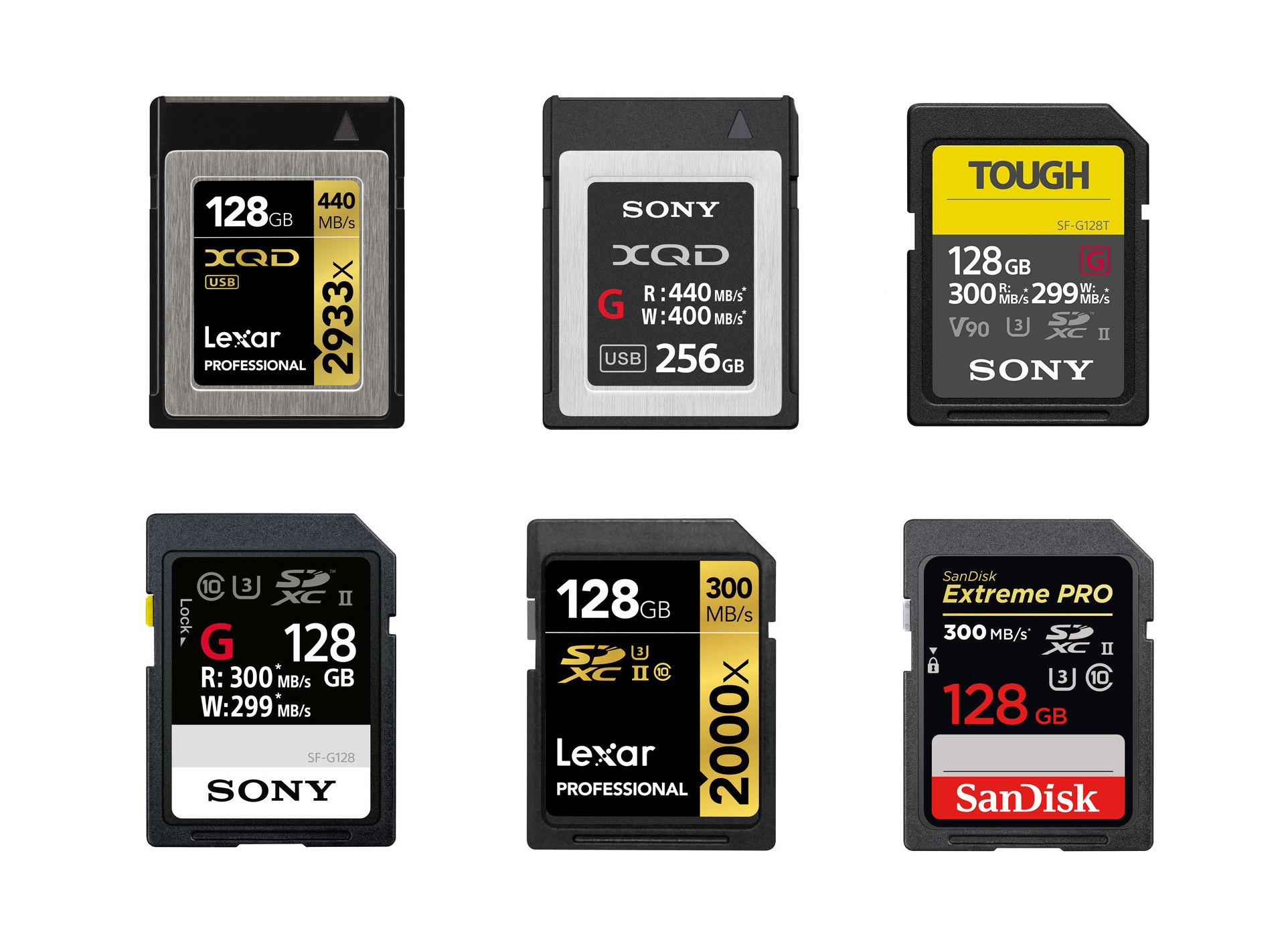 xqd karte Best XQD & UHS II SD Memory Cards for Nikon D850 | Nikon Rumors CO