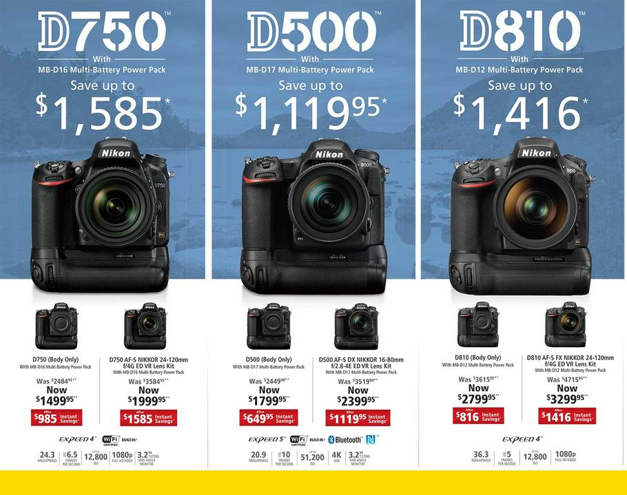 2017 Nikon D750 Black Friday & Cyber Monday Deals | Nikon Rumors CO