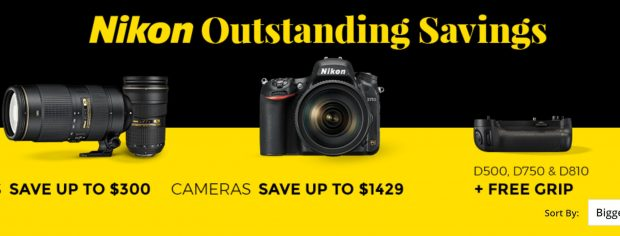 nikon holiday sale