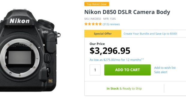 Nikon D850 Deals & Cheapest Price | Nikon Rumors CO - Part 2